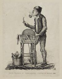 Knife Grinder at Kandarsteg, Canton of Berne, 1828.