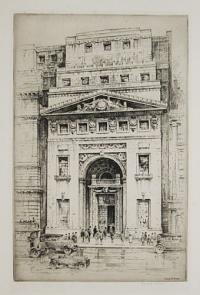 [Entrance to Lloyds, Leadenhall St.]