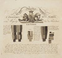 By His Majesty's Patent. C. Grierson, Gun Maker, to his Majesty, No 10, New Bond Street. London.