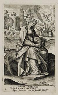 [Celebrated Women of the Old Testament - Samson's mother] Mater Sampsonis.