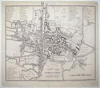 New Map of the University and City of Oxford.
