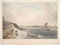 To the Hon.ble Sir John Vaughn K.B. and the Hon.ble C. Carpenter This View of the Town and Bridge of Berwick