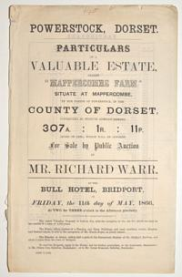 [Land auction catalogue.] Powerstock, Dorset.