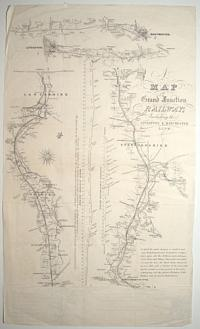 A Map of the Grand Junction Railway, Including the Liverpool and Manchester Line.