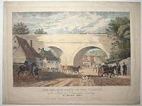 The Oblique Arch in the viaduct on the London & Birmingham Railway at Watford, Herts.