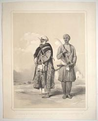 A Zemindar or Farmer of the Upper Provinces and A Puthan a Famous Wrestler.