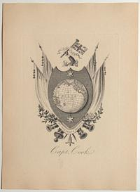 [The Cook Family Coat of Arms] Capt. Cook.