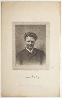 August Strindberg [facsimile signature].