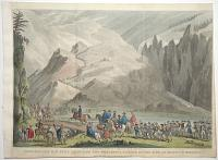 Napoleon amd his Army, Effecting the Wonderful Passage of the Alps, at Mount St Bernard.