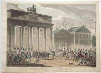 Napoleon's Entrance into the City of Berlin.