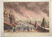 Napoleon Witnessing the Conflagration of Moscow, from the Palace of the Kremlin.
