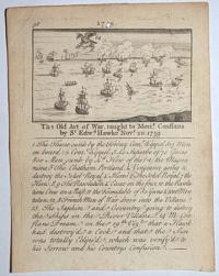 [Quiberon Bay] 98. The Old Art of War,  taught to Mon.r Conflans by S.r Edw.d Hawke Nov.r 20. 1759.