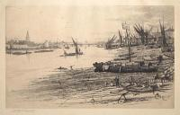 [Chelsea Reach, Looking Towards Battersea.]