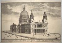 Prospect of the Cathedral Church of St. Paul's London.