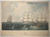 This print representing the East India Ship Vernon,