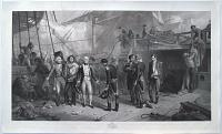 [Battle of Cape St Vincent.] Nelson Receiving the Swords on Board the San Josef, Feb.y 14, 1797.