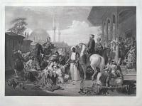 The Slave Market, Constantinople.