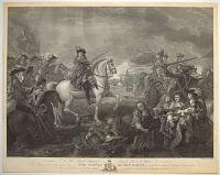 [Battle of the Boyne.] To His Royal Highness George Prince of Wales, This Plate engraved from the original Picture of The Battle of the Boyne,