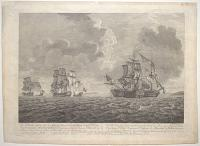 [Bishops Court] The Gallant Action (off the Isle of Man) where the Brave Cap.t Elliot Defeated & took the Marshall Belleisle,