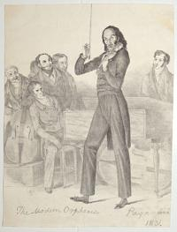 The Modern Orpheus. Paganini. [in pencil].