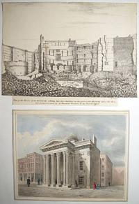 [View of the English Opera House] & View of the ruins of the English Opera House