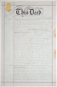 Assignment of Lease of Kohurau Block No.1.  From Hon. G. O. Waterhouse