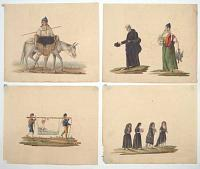 [Eleven fine watercolours of Mediterranean scenes.]