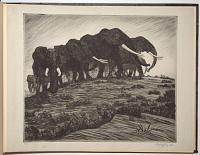 [Album of 16 etchings of African plains animals by Arthur Radclyffe Dugmore.]