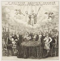 [Signing of the Treaty of Breda, 1667]