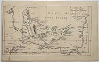 A Map of the Island of St John Near Nova Scotia lately taken from the French, 1758.