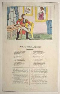 [The Duke of York and Mary Anne Clarke] Royal Love Letters.