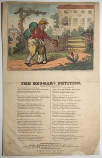 [George IV and Caroline of Brunswick] The Beggar's Petition.