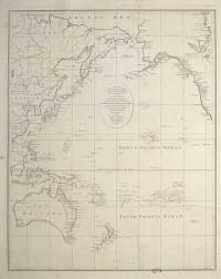 [Pacific Ocean] A New and Accurate Chart of the Discoveries of Cap.n Cook, and other later Circumnavigators,