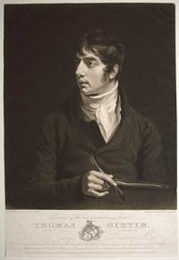 Portrait of the late extraordinary Artist, Thomas Girtin,  Natus Feb.y 18. 1775 Obiit Nov. 9. 1802.