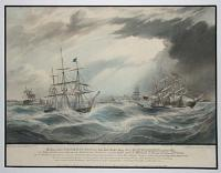 The Loss of the Pennsylvania New York Packet Ship; the Lockwoods Emigrant Ship; the Saint Andrew Packet Ship, and the Victoria from Charleston, near Liverpool during the Hurricane on Monday & Tuesday Jany 7th & 8th 1839.