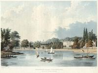 Beaumont Lodge _ Old Windsor. The Seat of Viscount Ashbrooke.