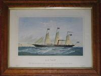 S.S. 'Iolé'. First Ship of the Salvation Navy dedicated to the Service of God, by General Booth, July, 1885.