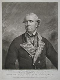 The Honourable Samuel Barrington, Vice Admiral of the Blue, and Commander in Chief of his Majestys Ships at the Reduction of St. Lucia.