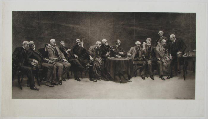 [The Council of the Royal Academy.]