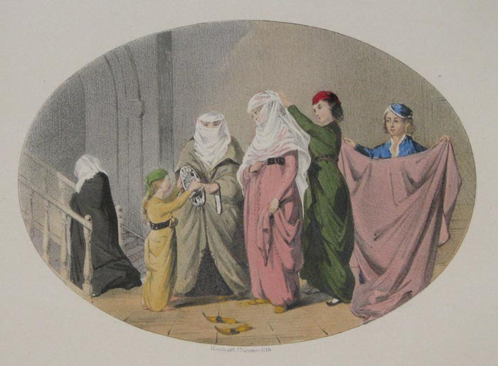 [Women dressing, Turkey.]
