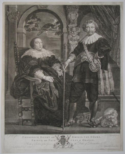 [Netherlands] Frederick Henry and Emilia Van Solms, Prince and Princess of Orange.