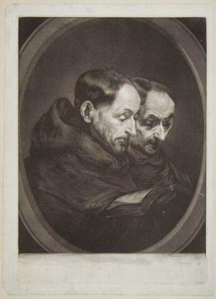 [Two Friars of the Order of St Anthony.]