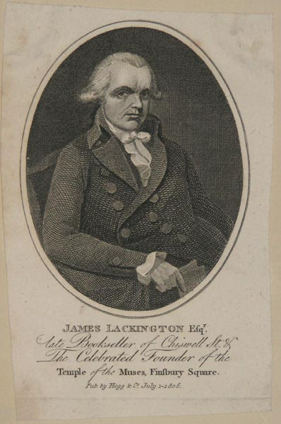 James Lackington Esqr.