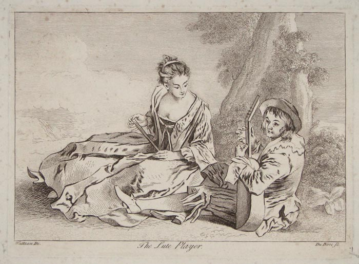 The Lute Player.