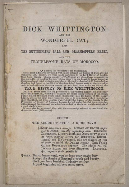 Dick Whittington And His Wonderful Cat;