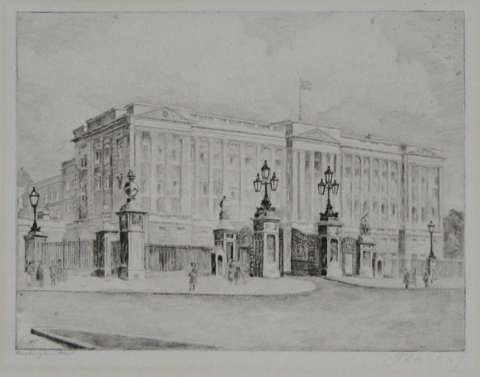 Buckingham Palace [pencil, lower left.]