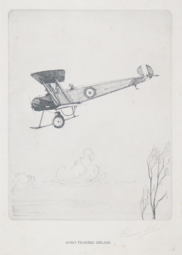 Avro Training Biplane.