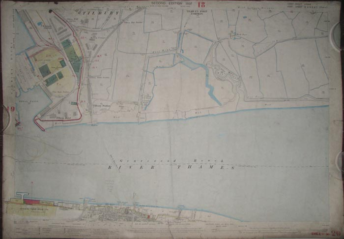 [Gravesend.] Essex. Sheet LXXXIX