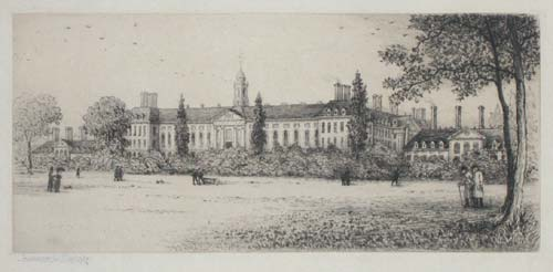 Royal Hospital from the Garden.
