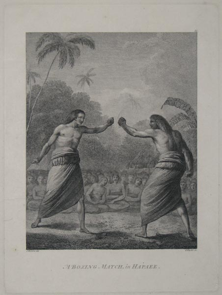 A Boxing Match, in Hapaee.